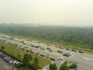 Haze in Cyberjaya